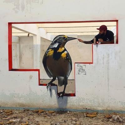 Source d'inspiration chez les graffeurs